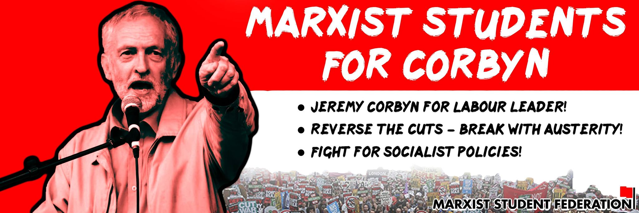 Marxist students for Corbyn