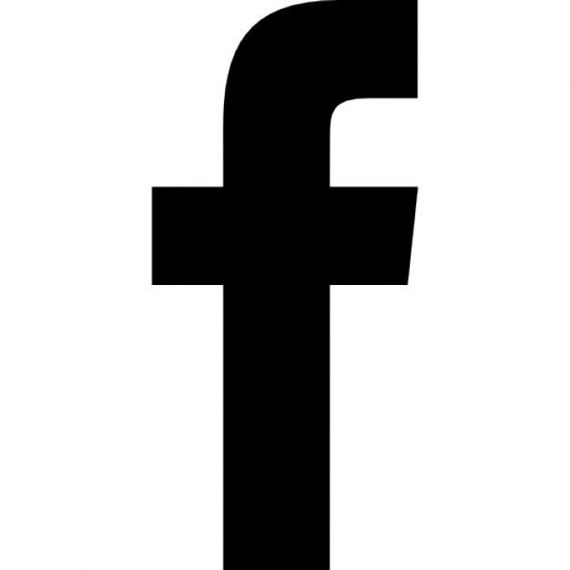 facebook icon black