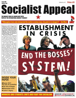 Socialist Appeal Issue 261 cover