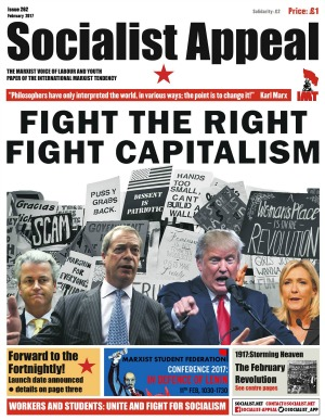 Socialist Appeal Issue 262 Page 01