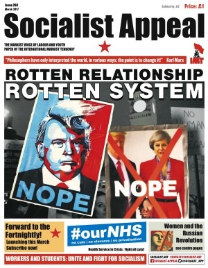 Socialist Appeal Issue 263 cover