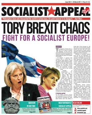 Socialist Appeal Issue 264 cover