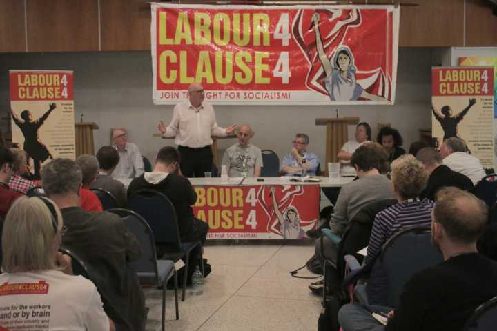 Restore Clause 4! Fight for a socialist Labour government!
