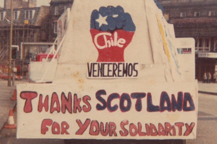 nae pasaran chile solidarity