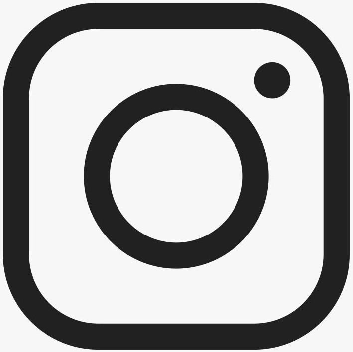 instagram icon black