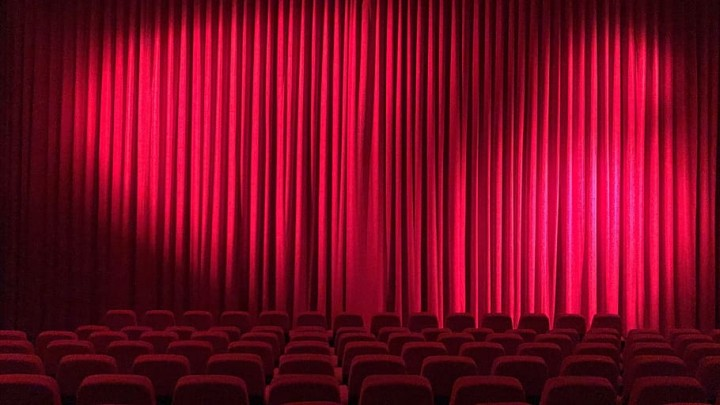 cinema theater hall curtain
