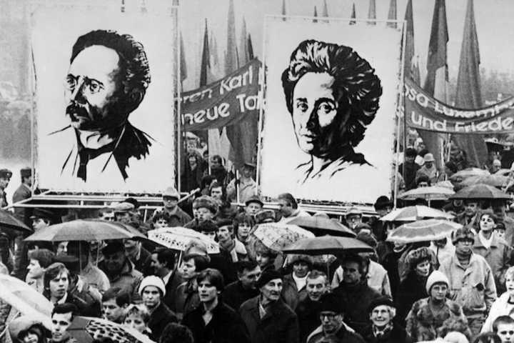 Rosa Luxemburg and the 1918 German Revolution