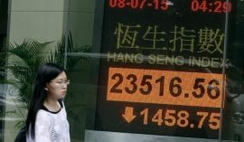 chinese stock market crash