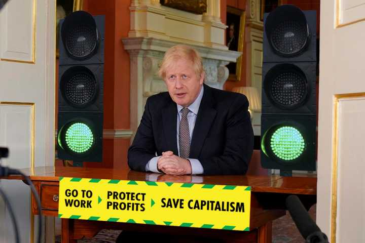 Boris' green light to big business