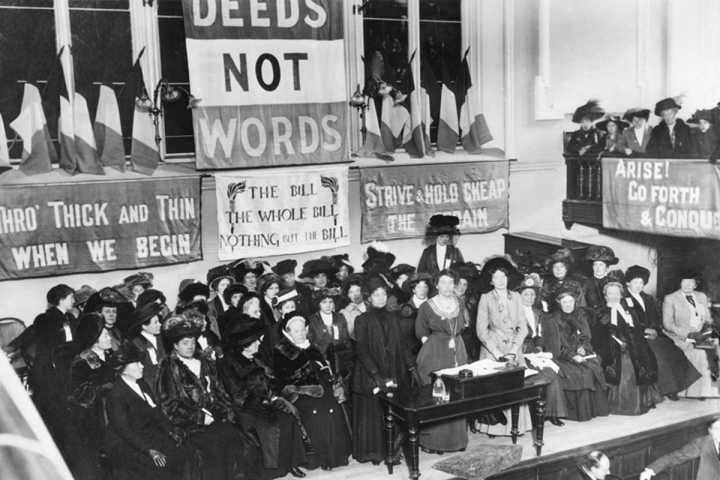 The Suffragettes and the fight for equality: a century of struggle