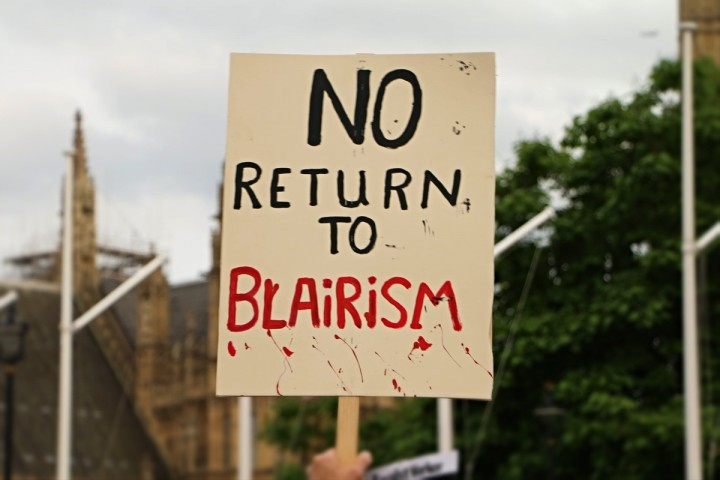 No return to Blairism