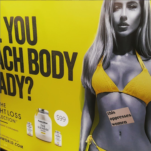 Advertising objectification capitalism