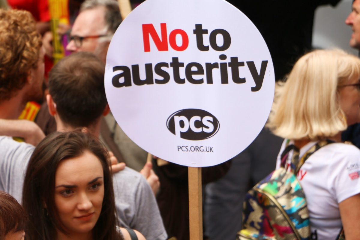 No to austerity PCS