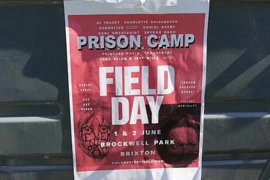field day 2018 prison camp
