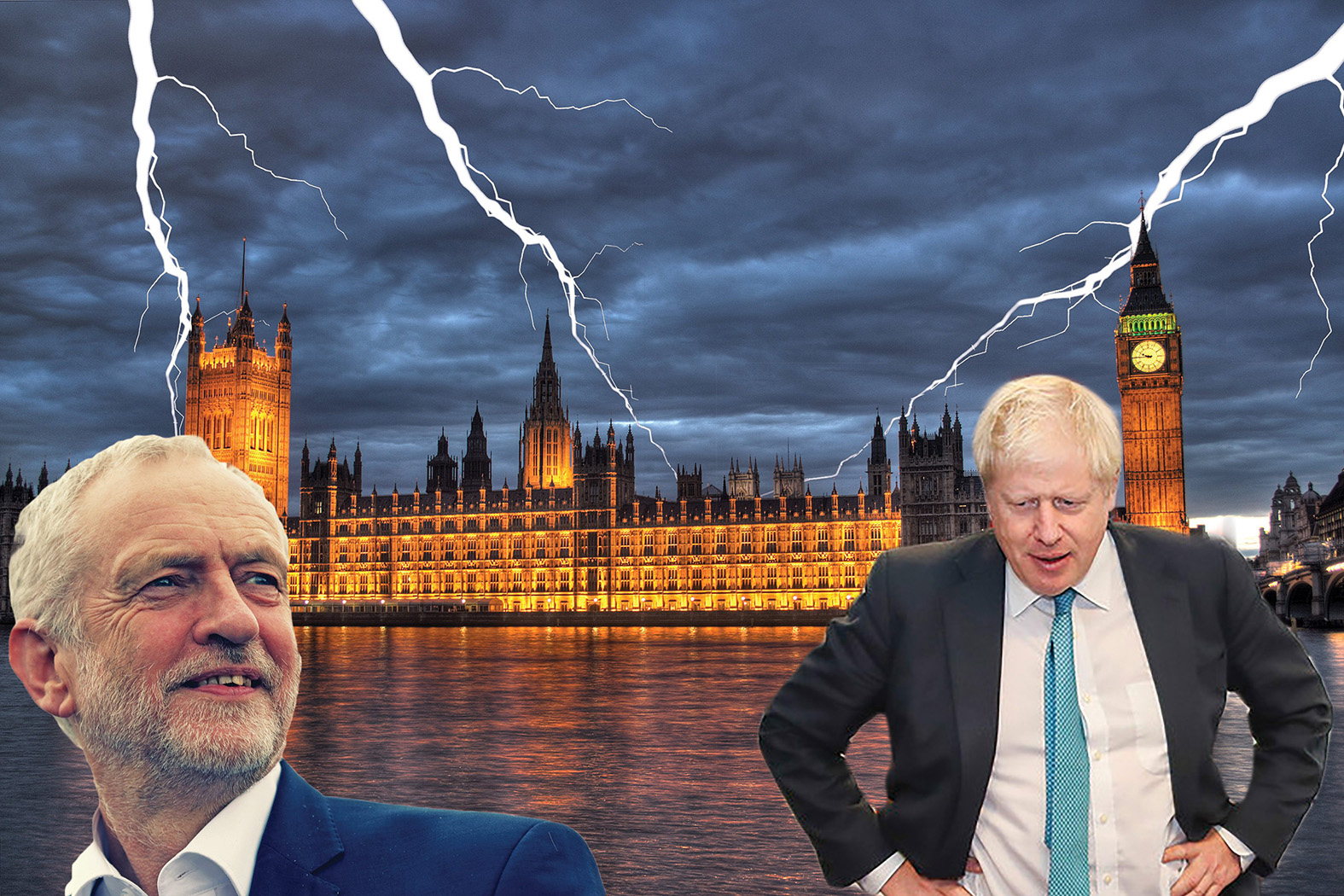 Johnson parliament storm