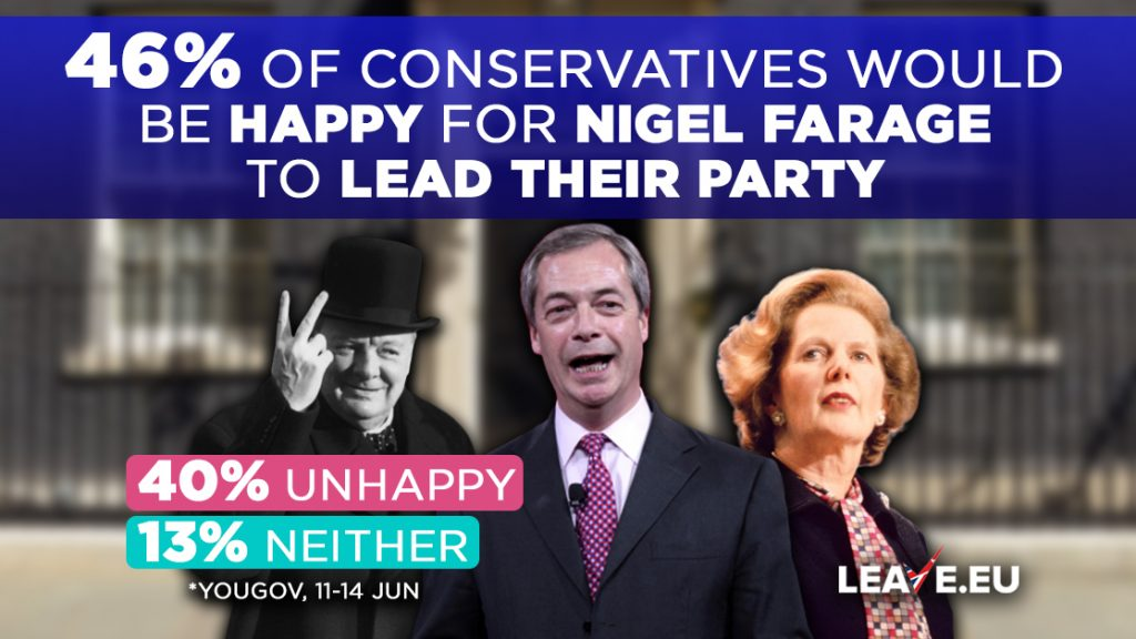 Leave EU Farage Tory members
