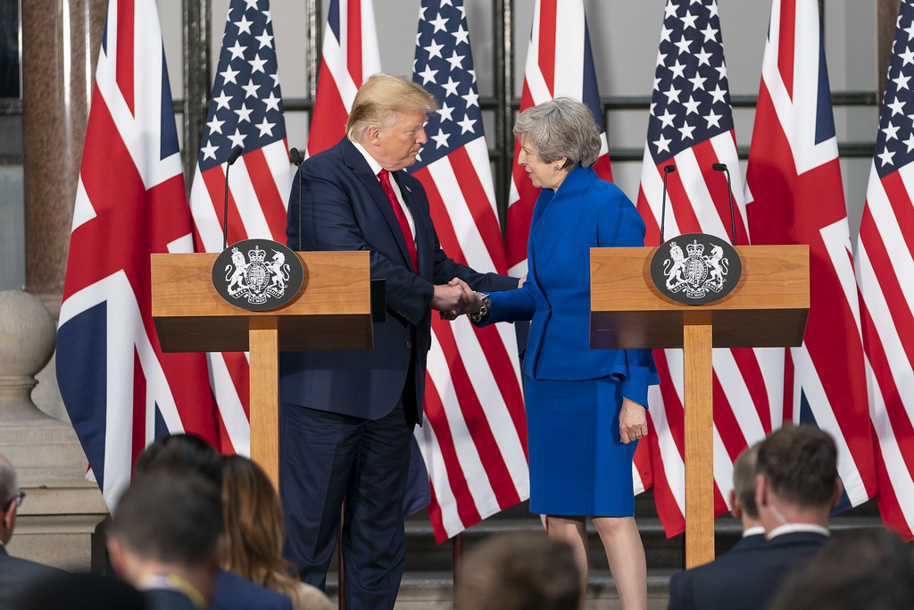 Trump and May June 2019