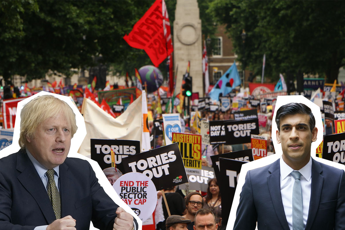 Boris Sunak Tories out