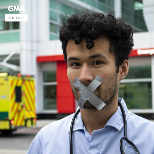 Doctor gagged