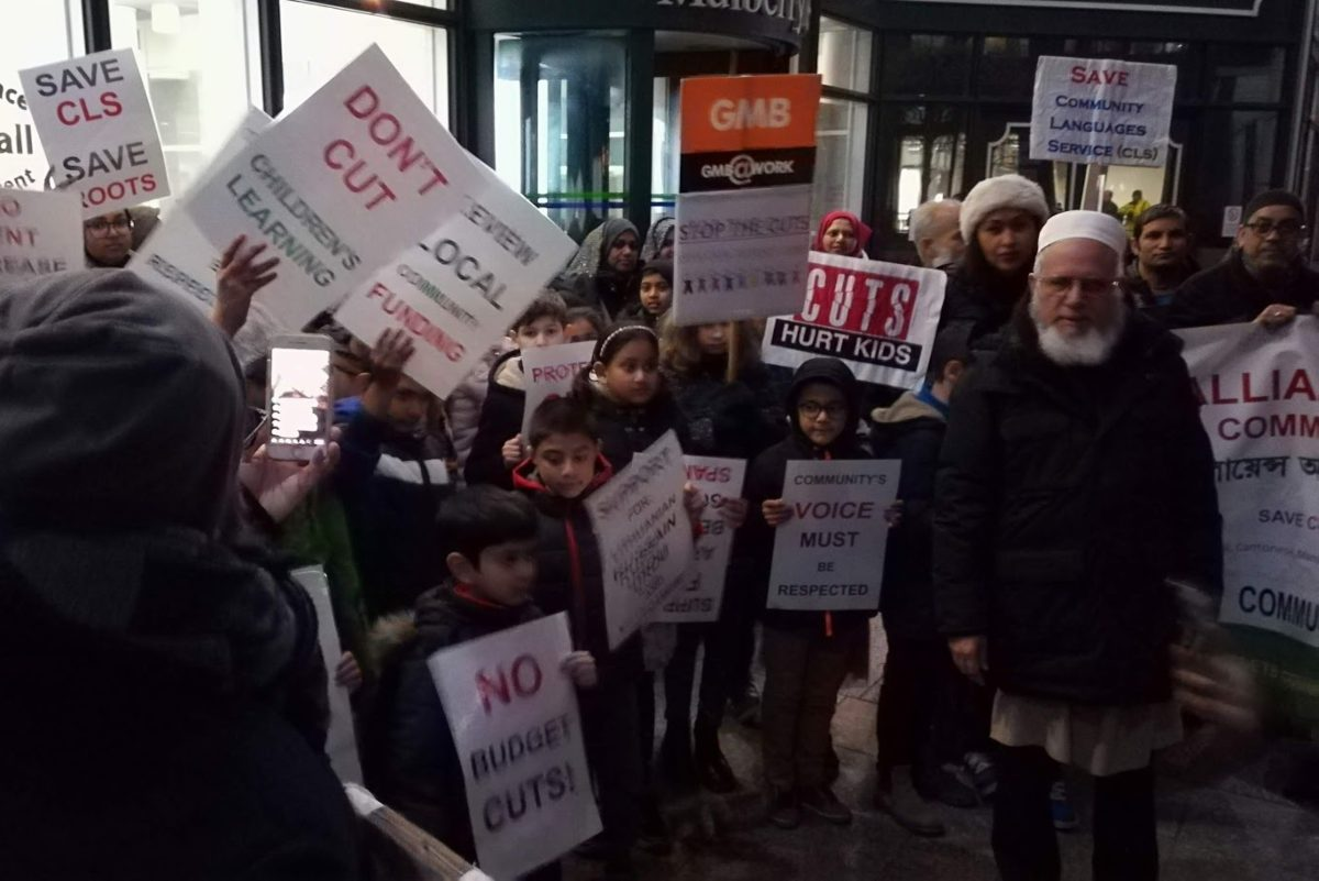 Tower hamlets protests