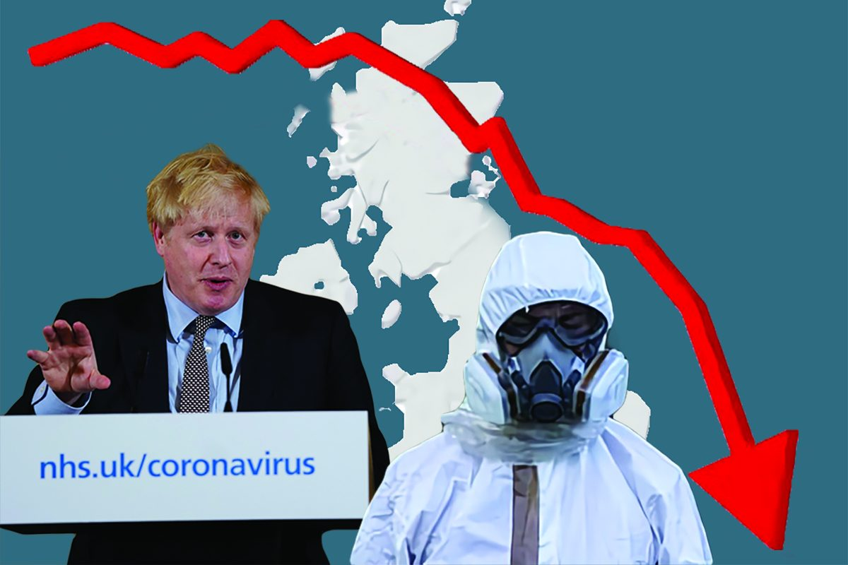 UK coronavirus crash