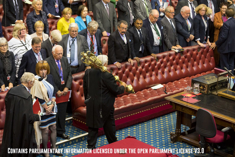 House of lords sceptre