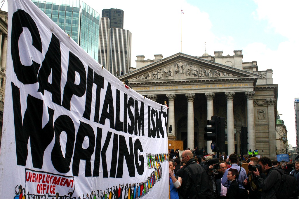 capitalism isnt working BoE