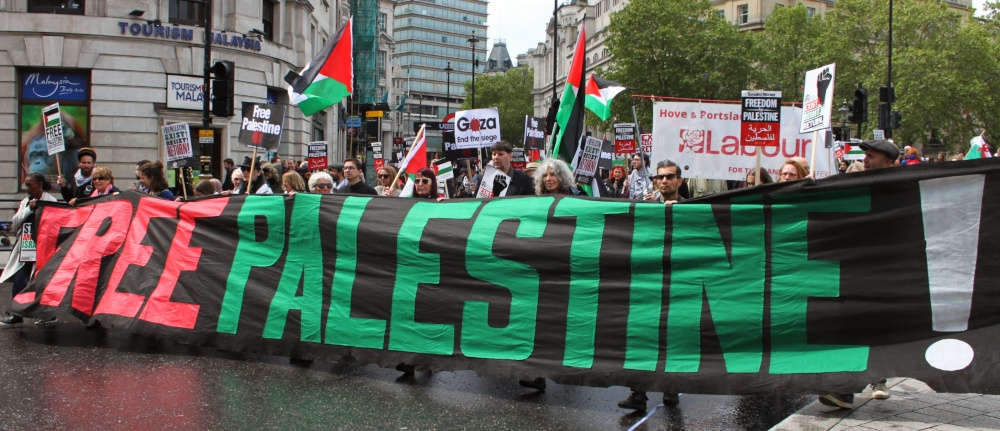 Free Palestine demo 2 May 2019