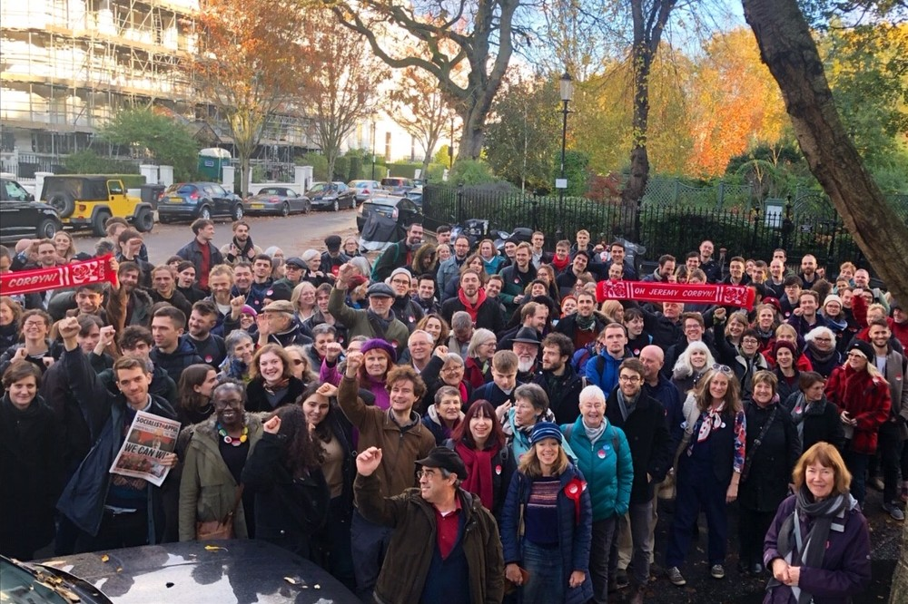 Labour election Kensington Nov 2019