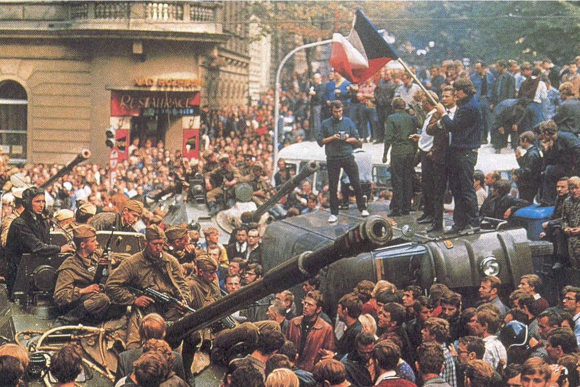 Prague Spring invasion