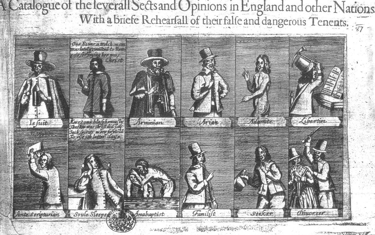 Catalogue of Sects