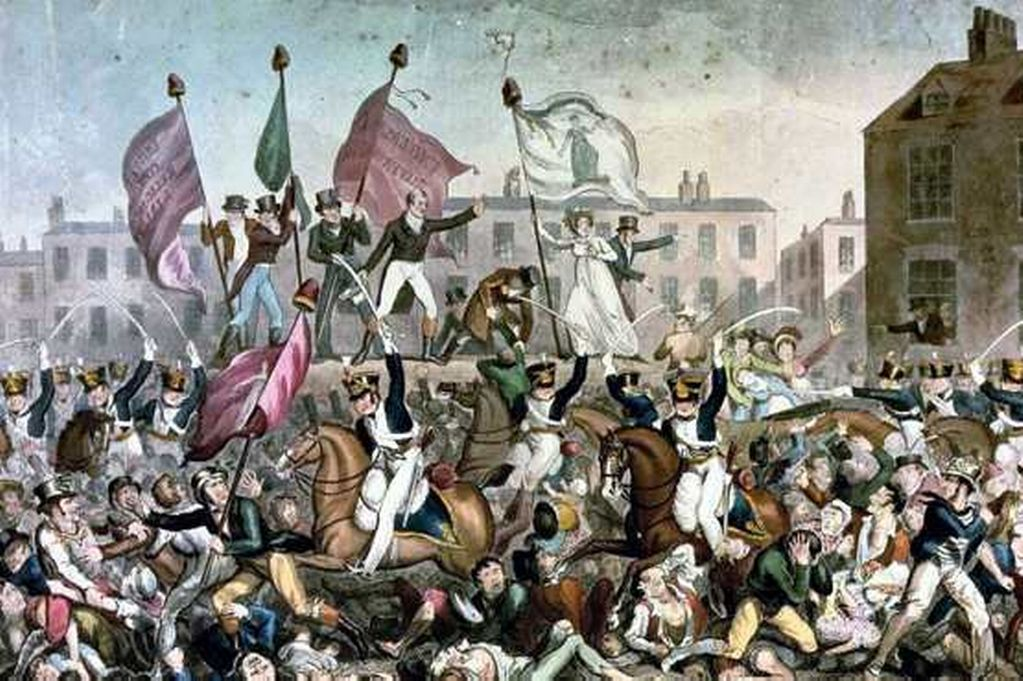 Peterloo charge