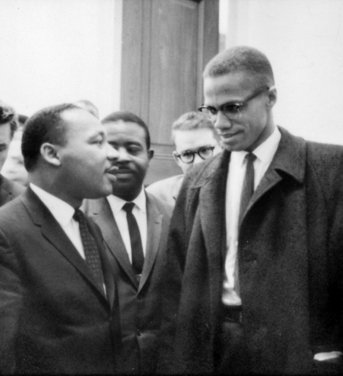 MLK and Malcolm X 1