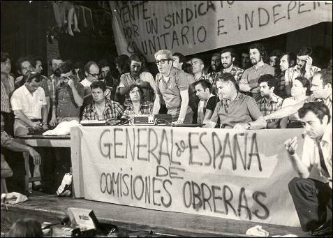 Spain 1977 workers movement