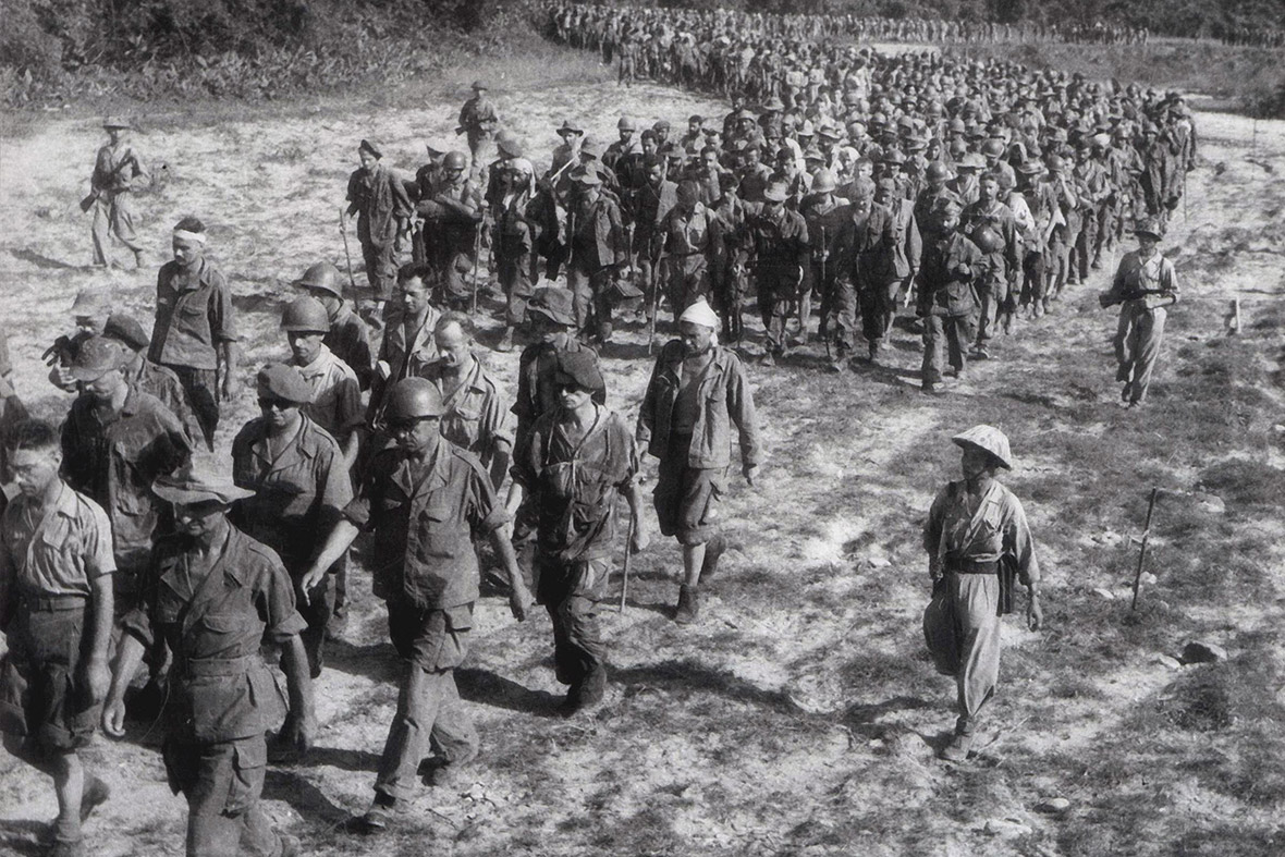 Dien Bien Phu 1954 French prisoners