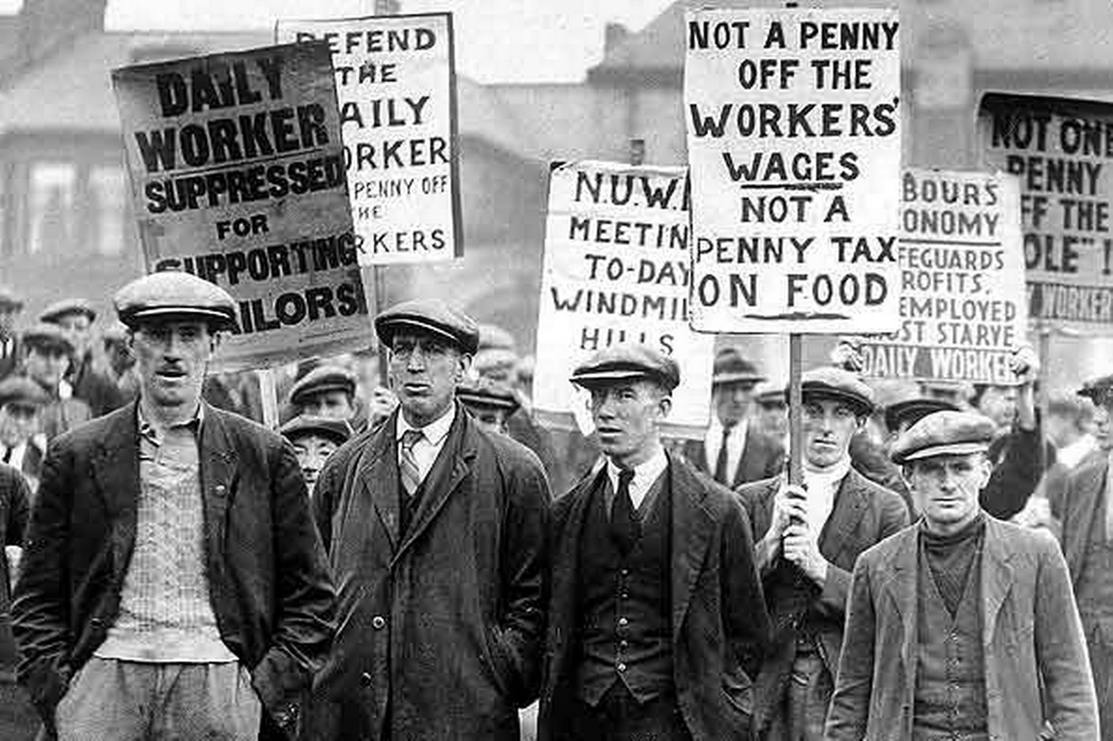 an introduction to the history of the general strike of 1926 in britain In may 1926, the trades union congress, the national organization of trade unions in britain, called for a general strike in support of the miners' federation.