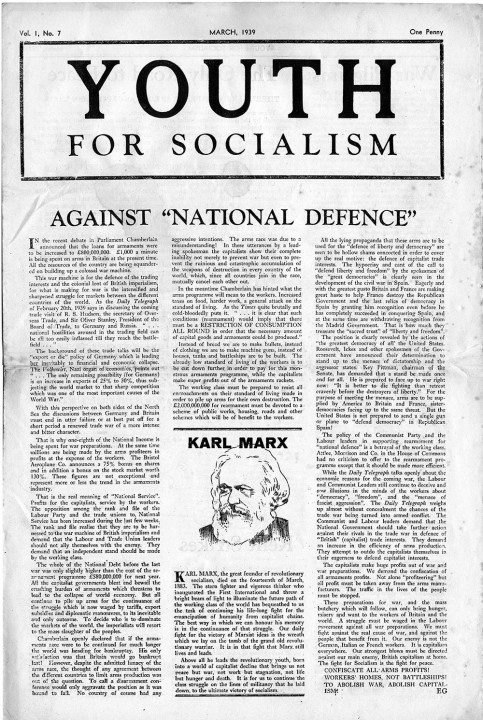 WIL youth for socialism