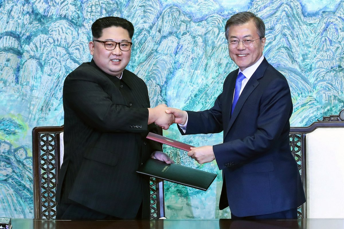 Korea peace talks 2018