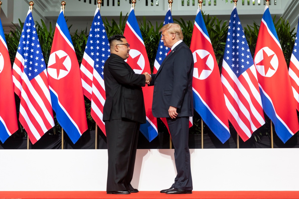 Trump Kim meeting June 2018
