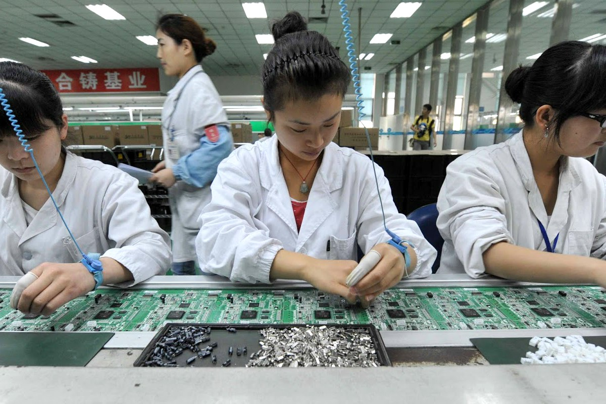 Chinese circuit board factory