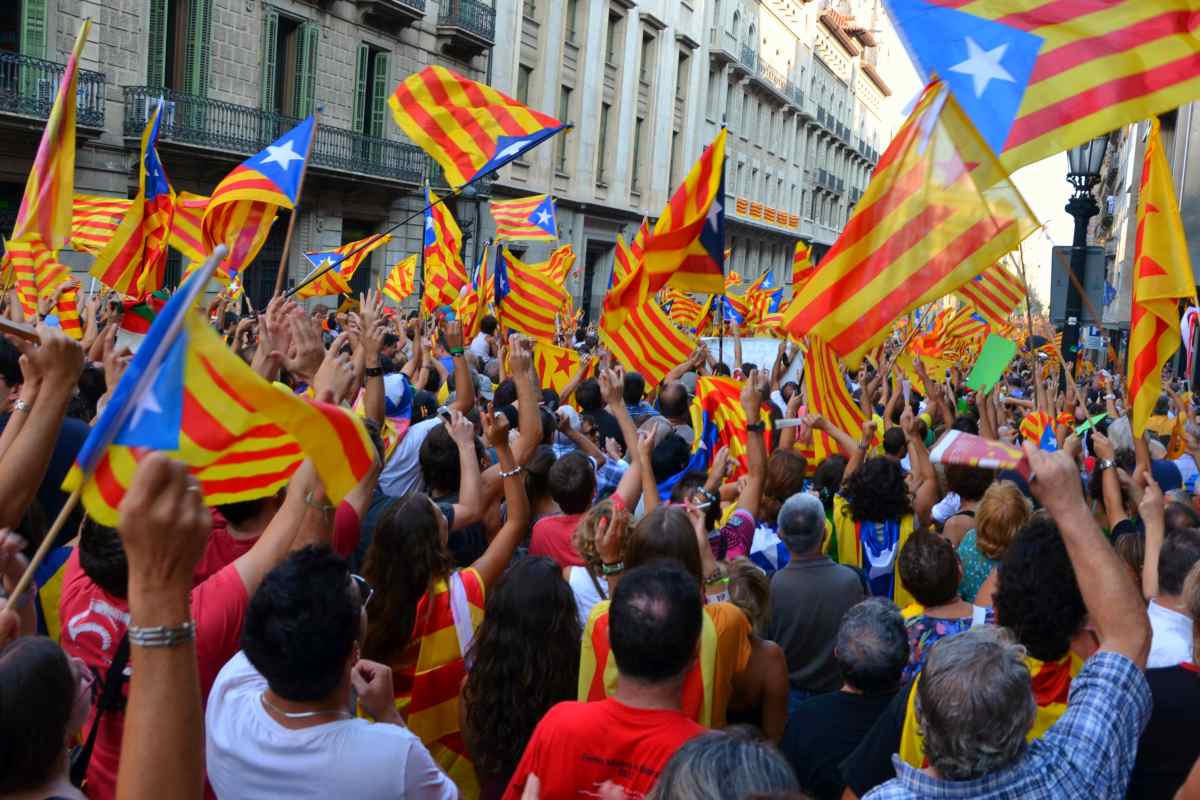 Catalan Independence Demo