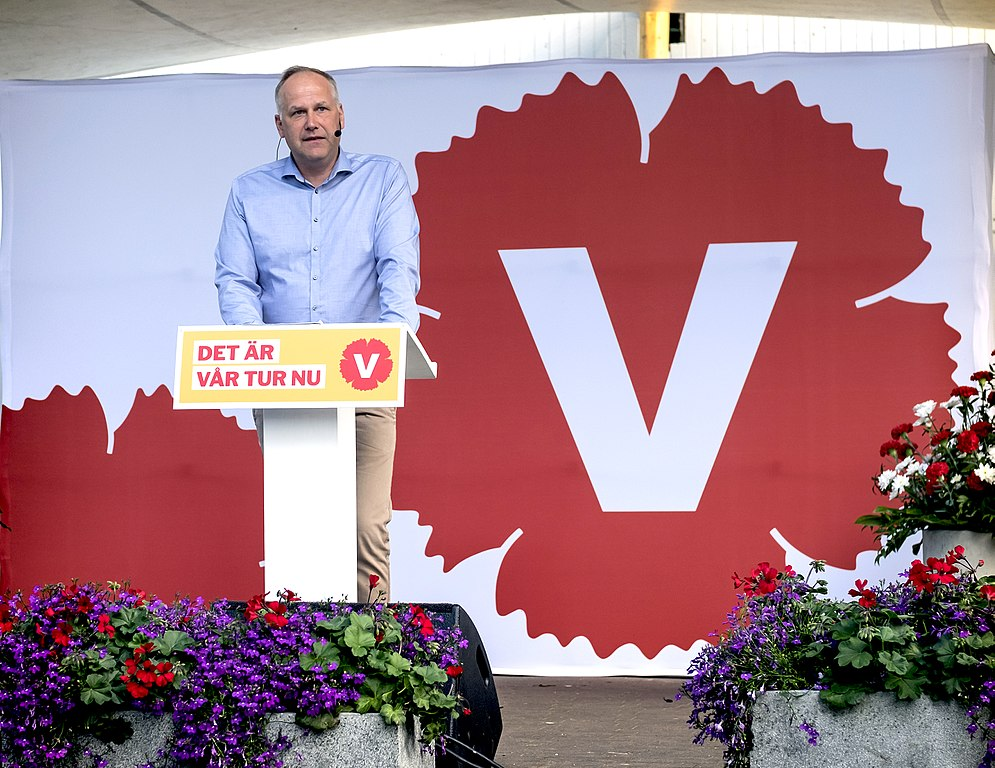 Vansterpartiet left party sweden