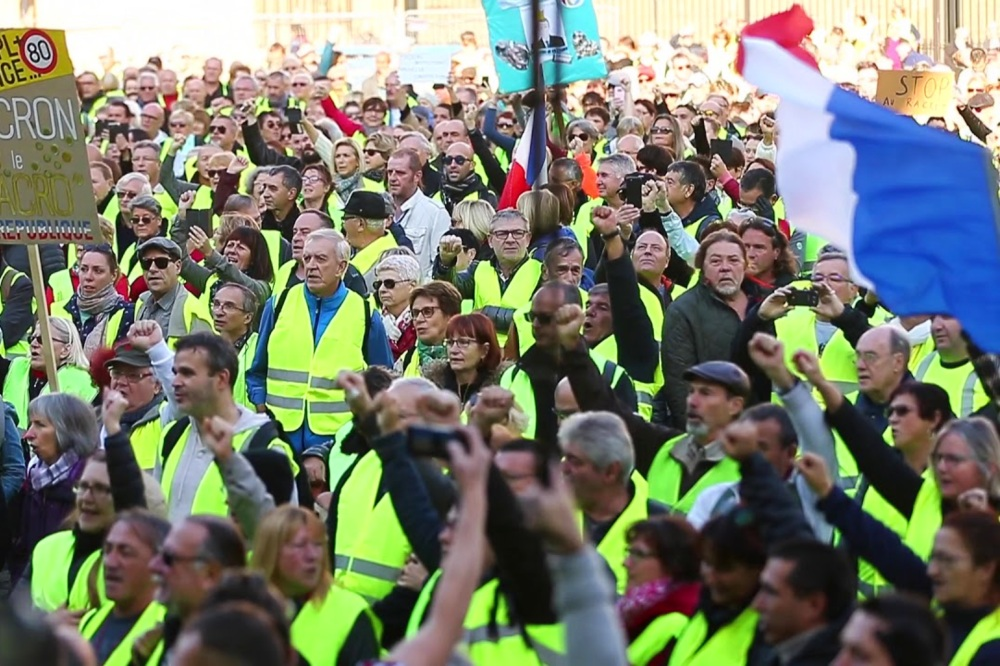 Yellow vests France