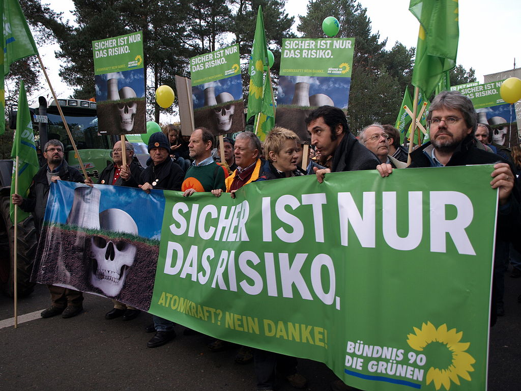 Germany Green protest