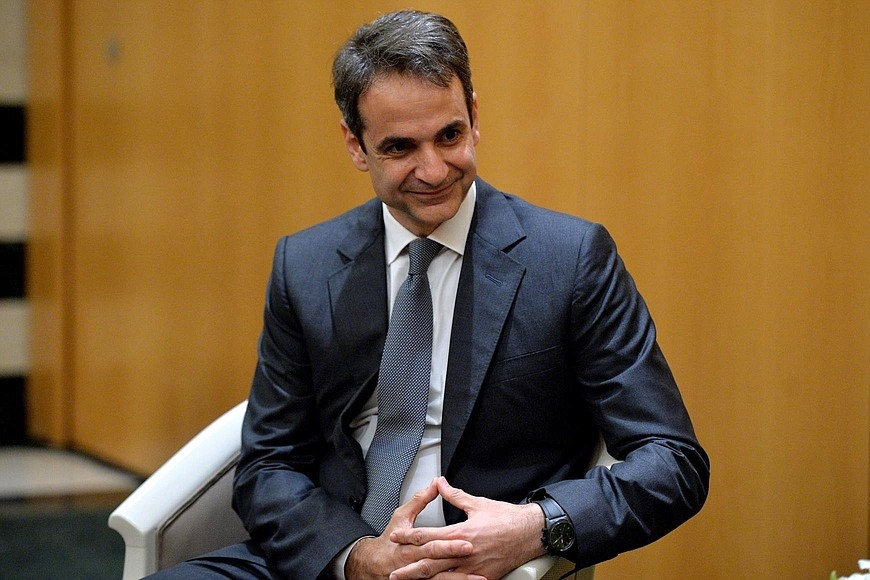 Mitsotakis New Democracy