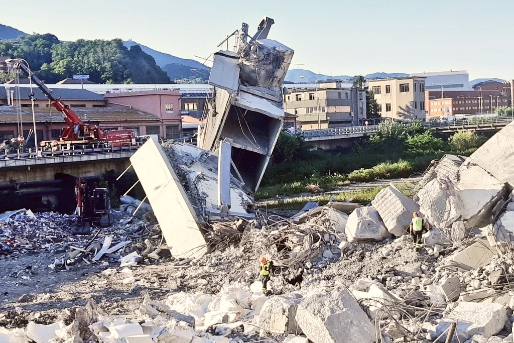 ponte morandi collapse