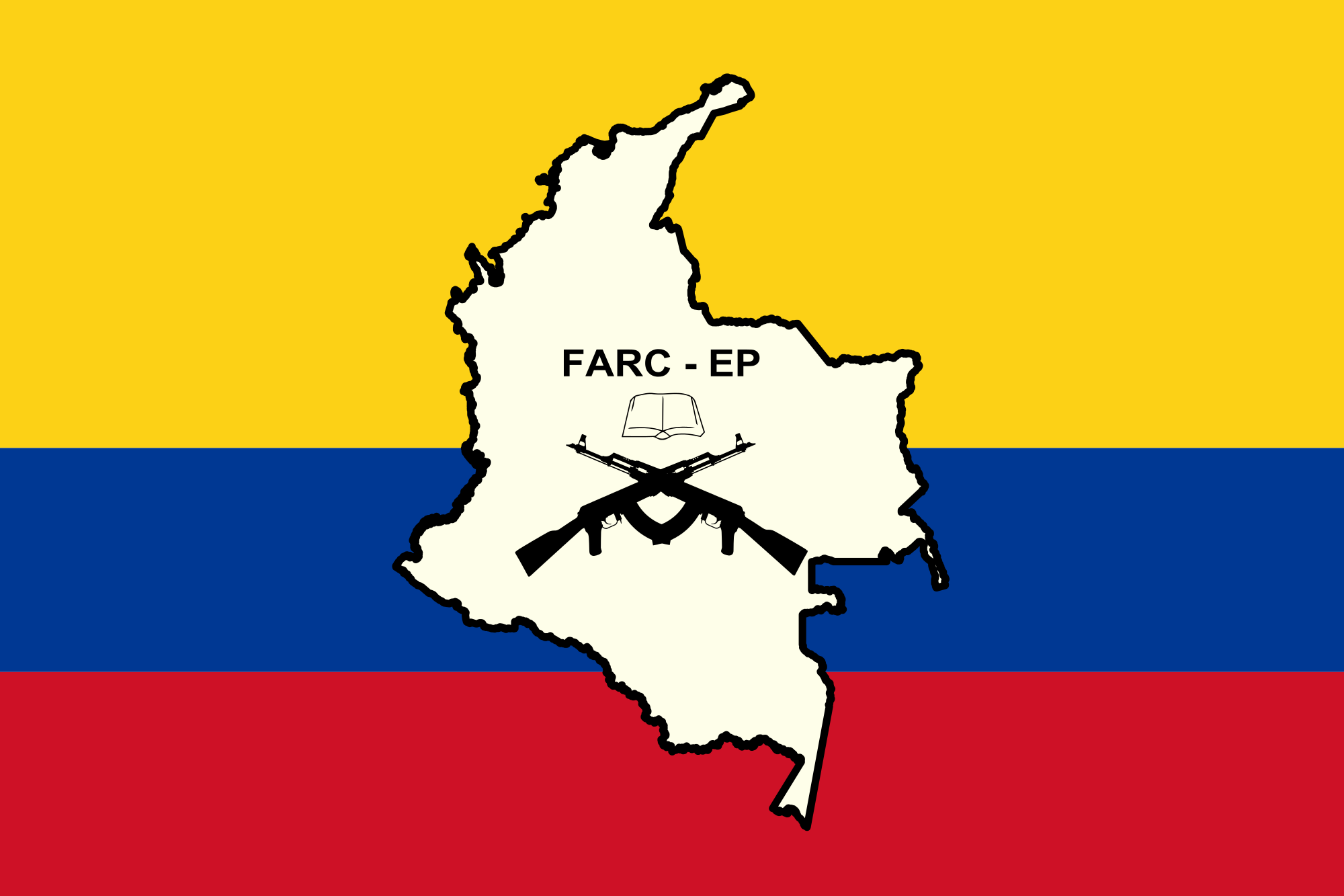Flag of the FARC EP