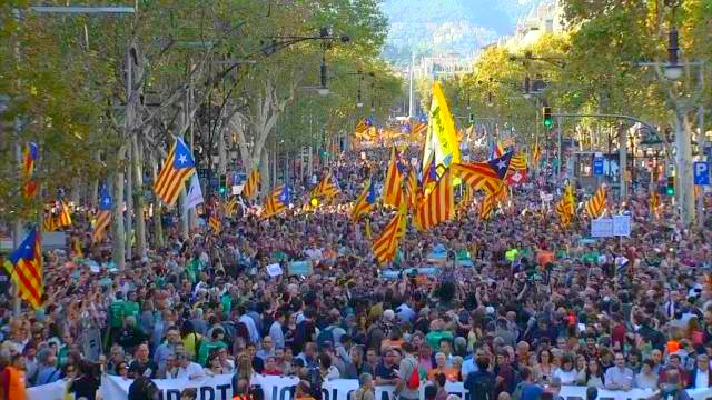 Barcelona 21 October 2017
