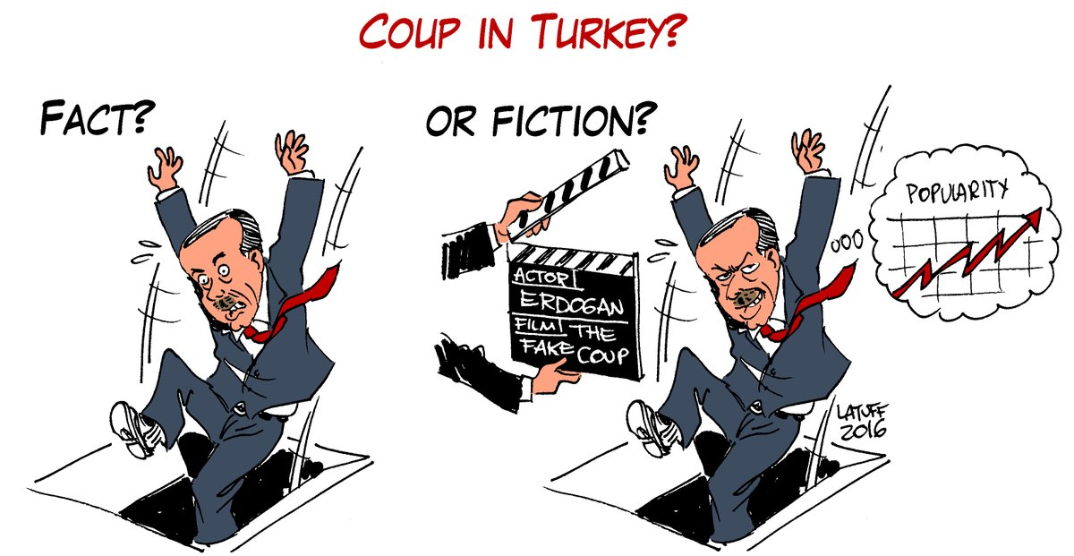 Coup in Turkey Latuff