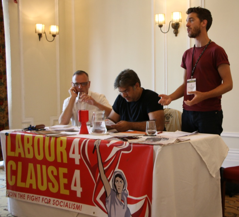 Unite Clause4 fringe meeting Adam